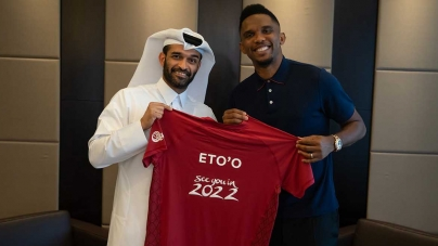 VIDEO: ETO'O BECOMES QATAR 2022 FIFA WORLD CUP AMBASSADOR