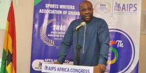 GHANA'S SPORTS MINISTER CALLS ON HELP OF AIPS TO SALVAGE INTEGRITY OF SPORT