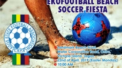 EKO FOOTBALL HOLDS BEACH SOCCER ON EASTER MONDAY