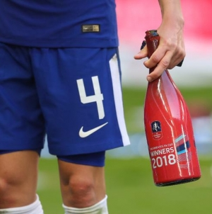 NO MORE CHAMPAGNE FOR FA CUP WINNERS