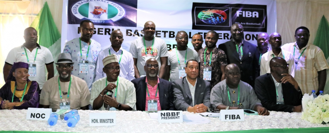 NIGERIA'S BASKETBALL BOSS, KIDA GETS GENERAL ASSEMBLY'S VOTE OF CONFIDENCE