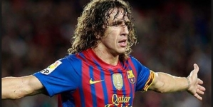 VIDEOS:BIRTHDAY BOY, PUYOL LANDS IN NIGERIA FOR UEFA CHAMPIONS LEAGUE TOUR PRESENTED BY HEINEKEN
