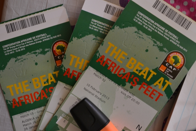 AFRICAN CUP OF NATIONS' MATCH TICKETS NOW ON SALE
