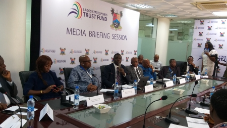NIGERIA'S FIRST SPORTS TRUST FUND, LSSTF, ROLLS OUT PLANS