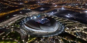 FIFA PRESIDENT IMPRESSED AS PROPOSED 2022 WORLD CUP VENUE TO OPEN ITS DOORS
