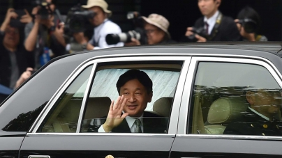 CORONATION OF JAPAN'S NEW EMPEROR SET TO CONTINUE FAMILY'S OLYMPIC TRADITION AT TOKYO 2020