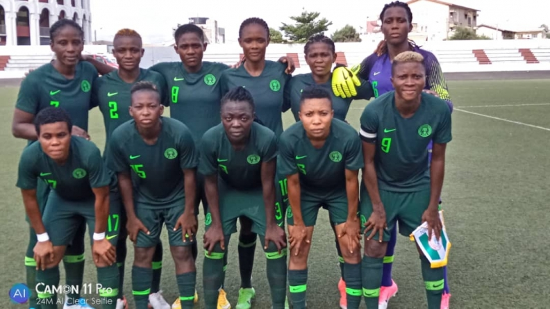 SUPER FALCONS TANGO WITH ELEPHANTES FOR WAFU CUP TROPHY
