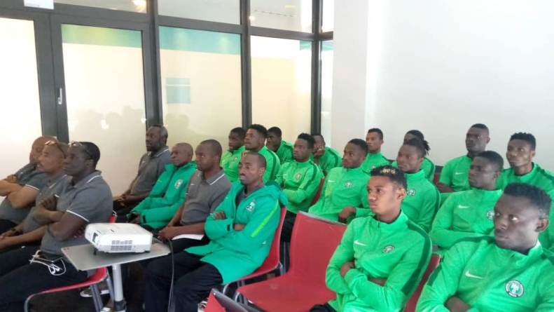 FIFA BRIEFS FLYING EAGLES GO TO FIFA CLASSROOM, AS NEW FOOTBALL LAWS ARE OPERATIONAL
