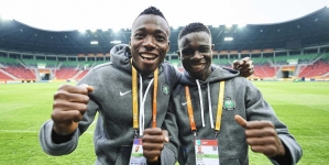 NIGERIA'S FLYING EAGLES FLY CLOSER TO AFRICAN GAMES' MEDAL ZONE
