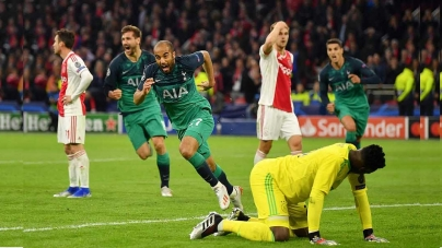 RED-HOT HOTSPUR SET UP ALL-ENGLAND CHAMPIONS LEAGUE FINAL