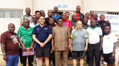 NIGERIA TABLE TENNIS FEDERATION YEARNS FOR MORE ITTF TRAINING FOR COACHES