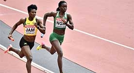 NIGERIAN HURDLER GLORY NATHANIEL SET TO LOSE GOLD MEDAL AFTER FAILED DRUGS TEST