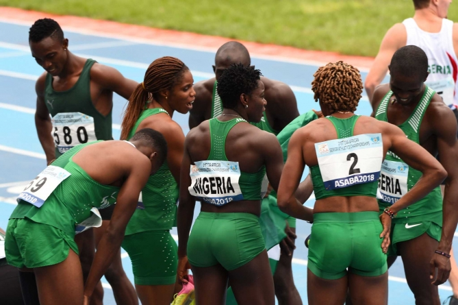 NIGERIAN ATHLETES FACE AFRICAN GAMES' BAN OVER AFN'S $134,000 DEBT TO IAAF
