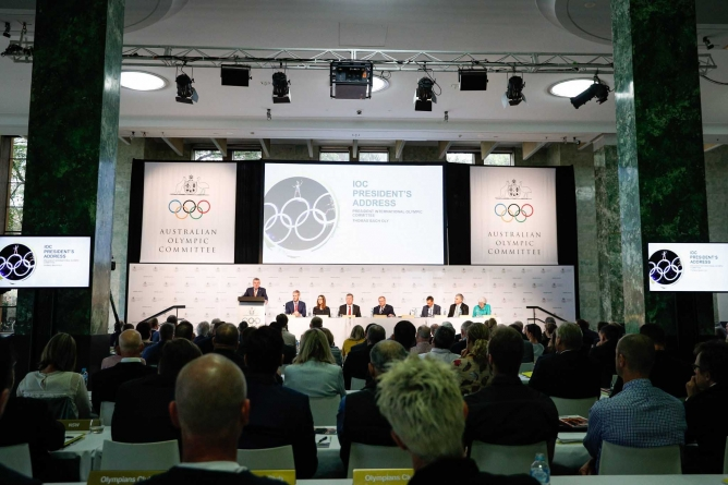 IOC BOSS BACH DISCOURAGING AUSTRALIA'S 2032 OLYMPICS BID