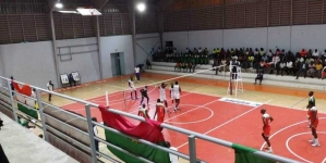 AFRICAN GAMES QUALIFIER: NIGERIAN VOLLEYBALL TEAM HAMMERS HOST, COTE D'IVOIRE