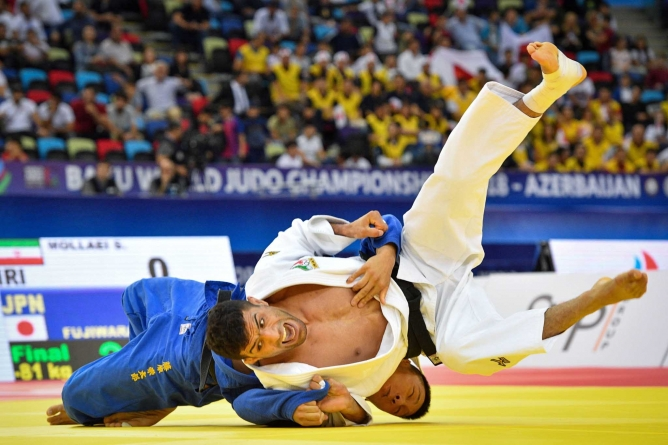 IRAN MENDS FENCES WITH ISRAEL, PROMISES TO END BOYCOTT OF JUDO MATCHES
