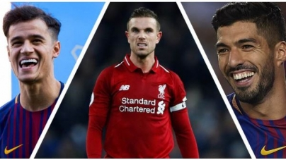 LIVERPOOL CAPTAIN HENDERSON PROMISES TO LEAVE HIS FORMER TEAMMATES SUAREZ & COUTINHO 'DEVASTATED'