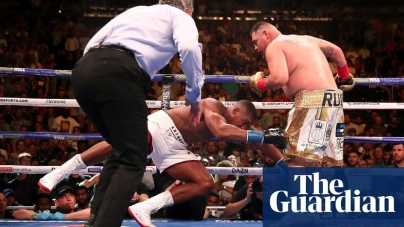 VIDEO: HOW ANTHONY JOSHUA LOST HIS CROWN