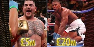 DESPITE LOSING CROWN, ANTHONY JOSHUA EARNS FOUR TIMES MORE THAN NEW CHAMPION, ANDY RUIZ