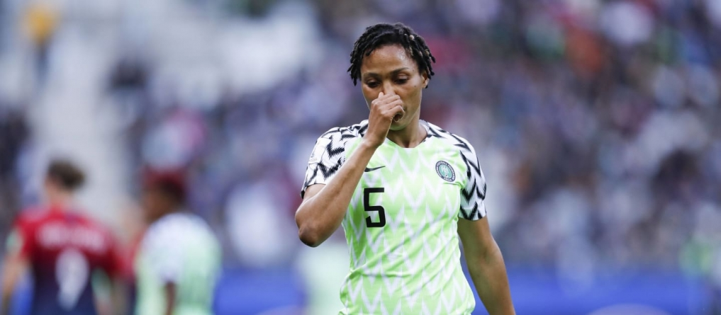 SUPER FALCON'S ONOME EBI GUNS FOR OMAGBEMI'S RECORD FOR MULTIPLE MATCHES AT WORLD CUP