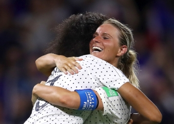 FRANCE BATTLE PAST BRAZIL IN FIFA WOMEN'S WORLD CUP