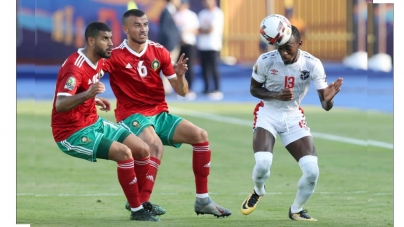 OWN-GOAL RUINS NAMIBIA'S DOGGED RESISTANCE AGAINST MOROCCO