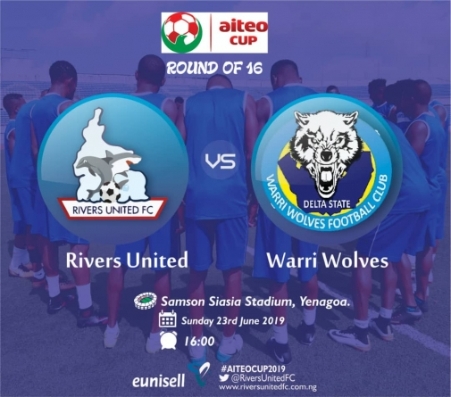 CAN WARRI WOLVES GET ROUND THE RIVERS IN AITEO CUP ROUND OF 16 INTO QUARTER FINALS?