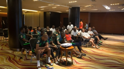 AFTER THE SCARE, SUPER EAGLES SET FOR OPENING MATCH