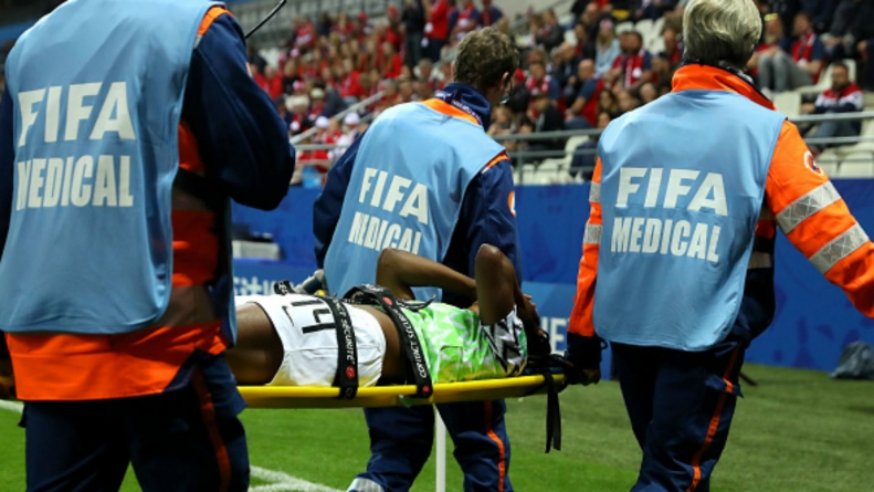 INJURY BLOW FOR SUPER FALCONS
