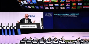 INFANTINO PROMPTS CHINA TO BID FOR 2030 WORLD CUP