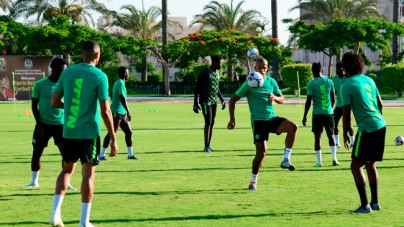 SUPER EAGLES' PLAYERS FALL SICK IN EGYPT