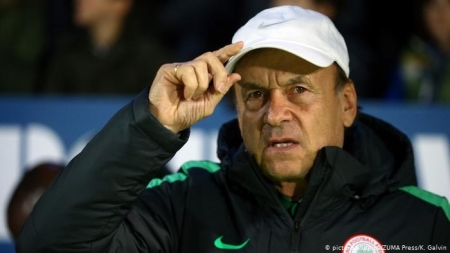 COMEBACK ABILITY IS THE HALLMARK OF GOOD FIGHTERS, SAYS NIGERIA'S MANAGER,  GERNOT ROHR