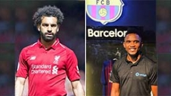 SAMUEL ETO'O WANTS SALAH IN BARCELONA