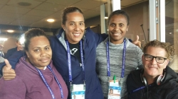 THE WOMEN COMMENTATORS BRINGING THEIR NATIVE LANGUAGE TO THE WORLD STAGE