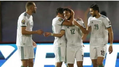FIVE STAR ALGERIA DAZZLE ZAMBIA IN AFCON 2021 QUALIFIERS