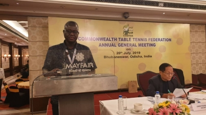 NTTF BOSS, TIKON, GETS INTO COMMONWEALTH TABLE TENNIS FEDERATION BOARD