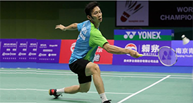 LAGOS INTERNATIONAL BADMINTON CLASSICS: TIEN MINH NGUYEN UPSETS ZILBERMAN TO MEN SINGLES TITLE