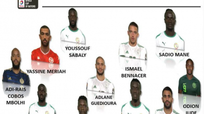 ODION IGHALO NAMED IN AFRICA XI