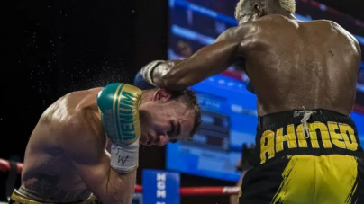BRAIN OF HOSPITALISED RUSSIAN BOXER, DADASHEV IS SWELLING