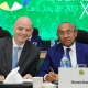 UPDATE FROM CAF CONGRESS: AHMAD SEEKS FIFA'S HELP TO GET DIPLOMATIC STATUS FOR CAF FOREIGN STAFF