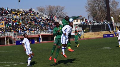 NIGERIA'S AFCON 2021 OPPONENTS, LESOTHO STUN SOUTH AFRICA
