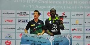 TABLE TENNIS: ARUNA QUADRI WINS 2019 NIGERIA OPEN
