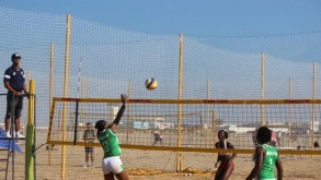 AFRICAN GAMES: NIGERIAN TEAMS PROGRESS IN BEACH VOLLEYBALL