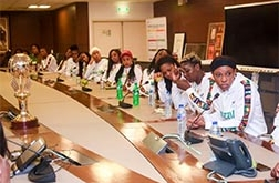 ZENITH, TOTAL HOSTS VICTORIOUS D'TIGRESS AFTER AFROBASKET WIN