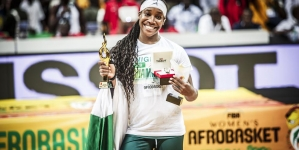 NIGERIA'S KALU NAMED MVP OF THE 2019 FIBA WOMEN'S AFROBASKET