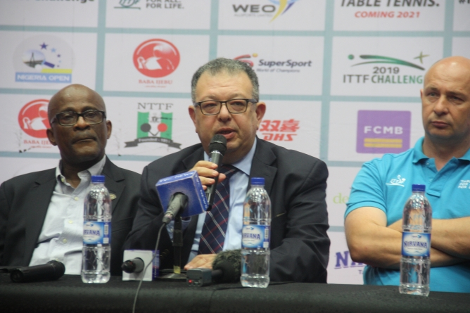 NIGERIA OPEN IS A MODEL TO OTHERS, SAYS ITTF