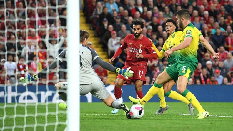 ENGLISH PREMIERSHIP OPENS WITH OWN-GOAL AS LIVERPOOL START RACE WITH BIG WIN