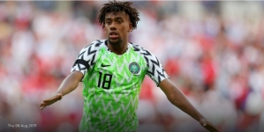 THROUGH ALEX IWOBI, NIGERIA BACK AT EVERTON, 70 YEARS LATER