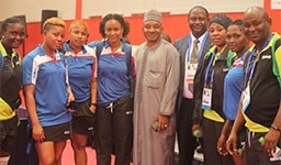 NIGERIAN AMBASSADOR RALLIES SUPPORT FOR TABLE TENNIS TEAM IN MOROCCO
