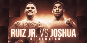 ANTHONY JOSHUA VS ANDY RUIZ REMATCH NOW IN SAUDI ARABIA